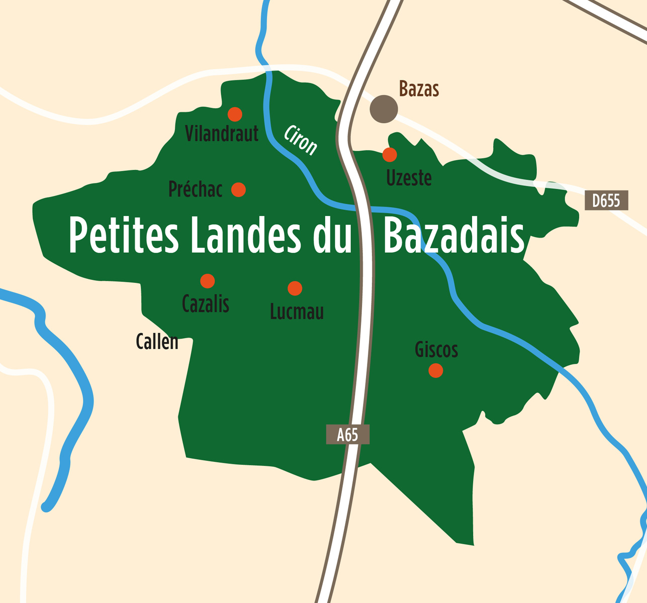Petites Landes du Bazadais