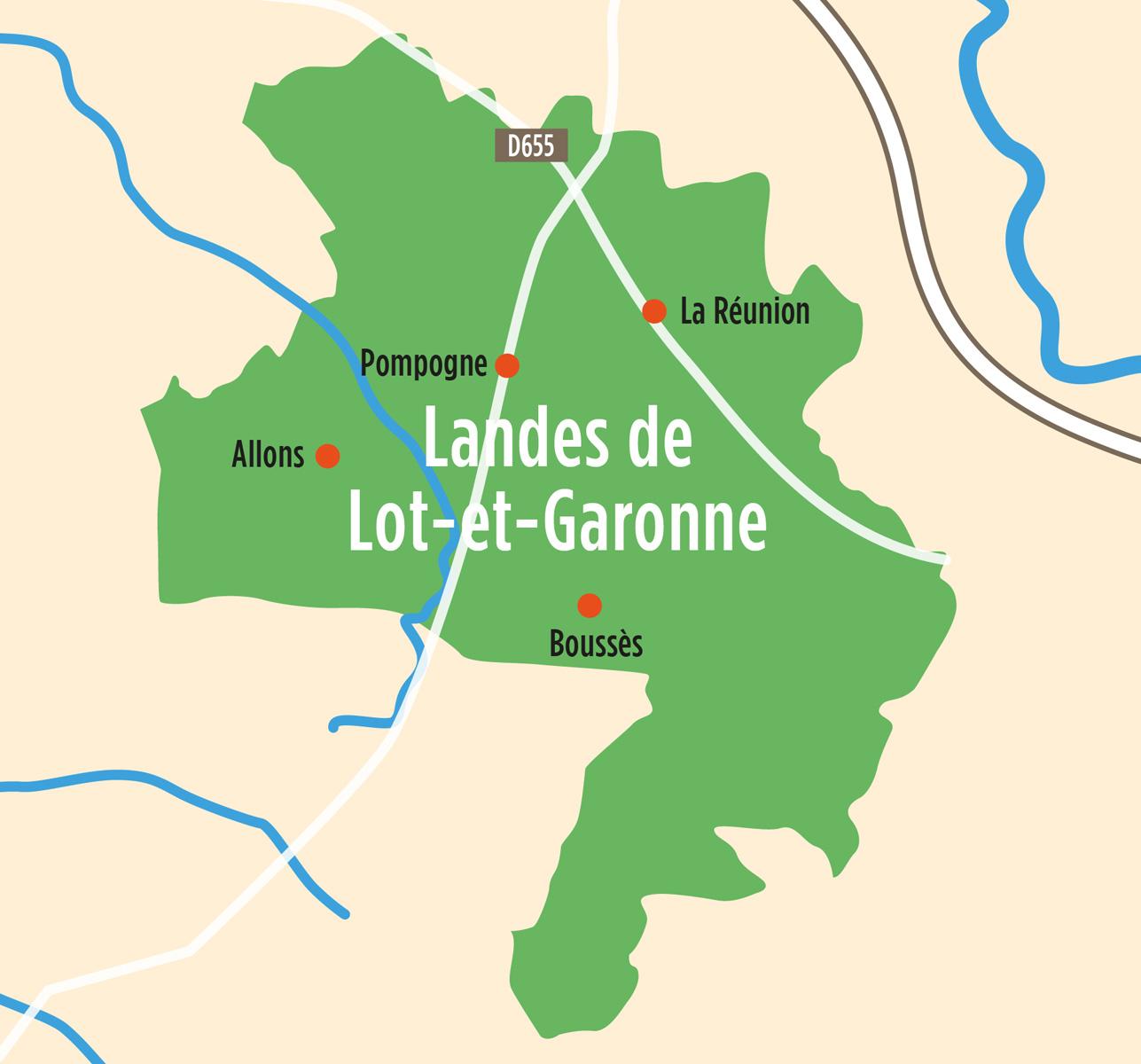 Landes de Lot-et-Garonne
